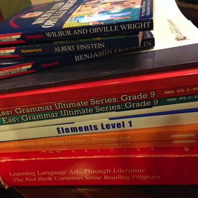 2014 homeschool curriculum