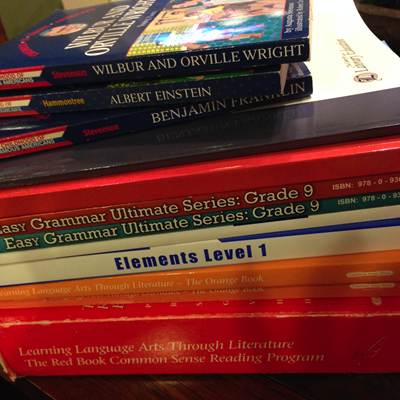2014 homeschool curriculum
