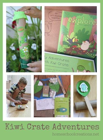 Kiwi Crate review from Homeschool Creations
