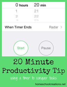 Productivity TIp