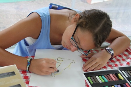 Shark Chalk Pastels art time-11