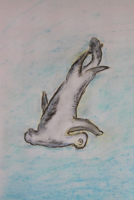 Shark Chalk Pastels art time-17