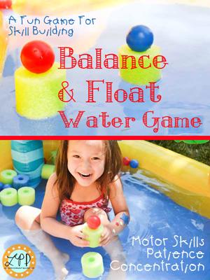 Water play Balance Ping Pong title1