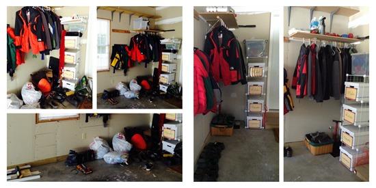 jacket area garage