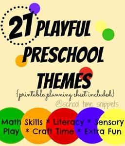 Preschool Theme Ideas Alphabet Games And Sunflower Crafts