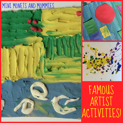 famous artist activities