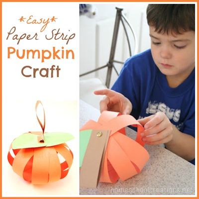 preschool pumpkin craft