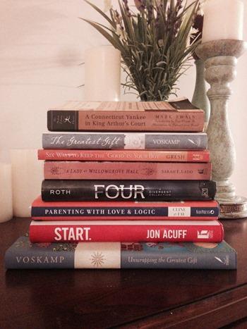 November Reading Pile