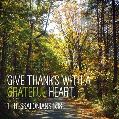Thanksgiving Grateful Verse