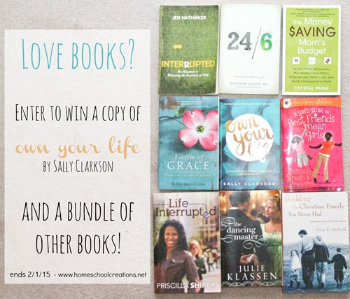 Own Your LIfe book giveaway bundle-1
