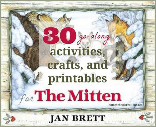 image relating to The Mitten Story Printable called 30 Things to do, Crafts, and Printables for The Mitten through Jan