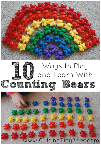 ways to use counting bears