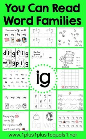 ig-Word-Family-Printables