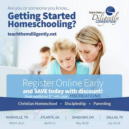 Getting Started Homeschooling at Teach Them Diligently