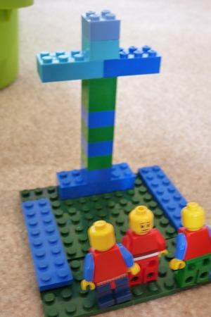 Lego Easter scenes-13