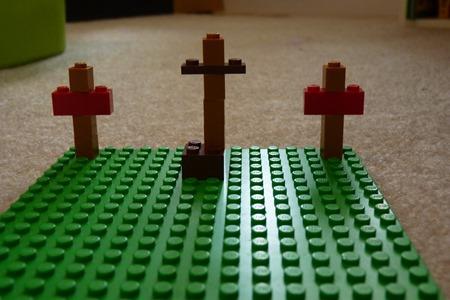 Lego Easter scenes-14