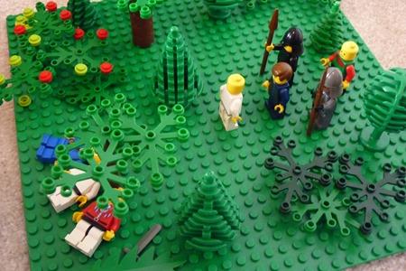 Lego Easter scenes-3