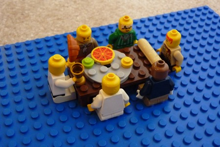 Lego Easter scenes