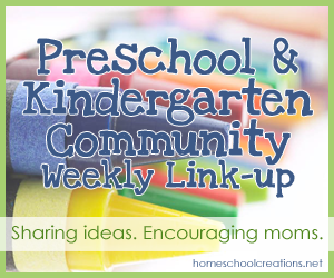 Preschool and Kindergarten Community weekly linkup