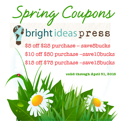 Bright Ideas Press spring-coupons