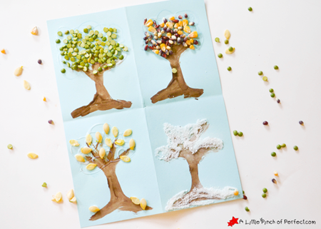 4 Seasons Nature Tree Art_A Little Pinch of Perfect 6 copy