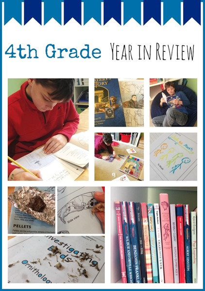 4th Grade Homeschool Year in Review
