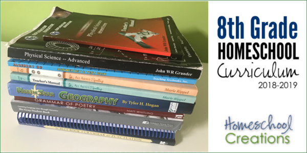 8th Grade Homeschool Curriculum Picks