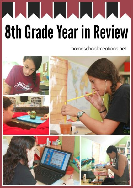 8th grade homeschool year in review - Homeschool Creations
