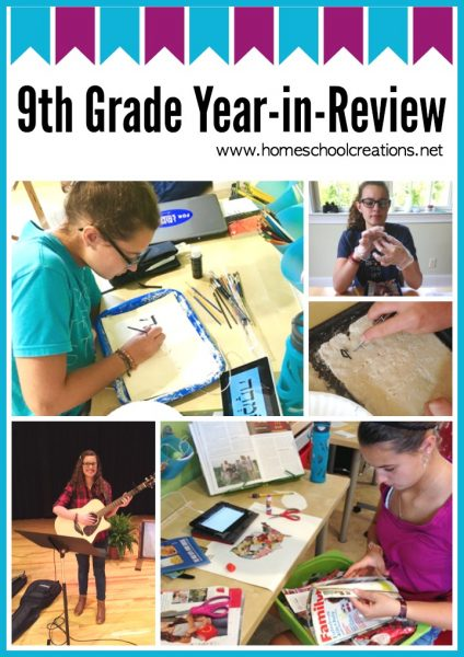 9th grade homeschool year in review