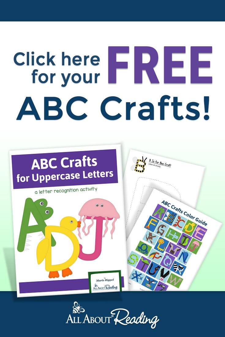 abc letter crafts for kids