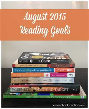 August 2015 Reading Pile