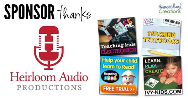 Companies to Thank Homeschool Creations 7 16