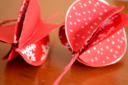 DIY Christmas Paper Baubles 03