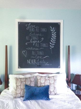 DIY chalkboard cupboard completed-1