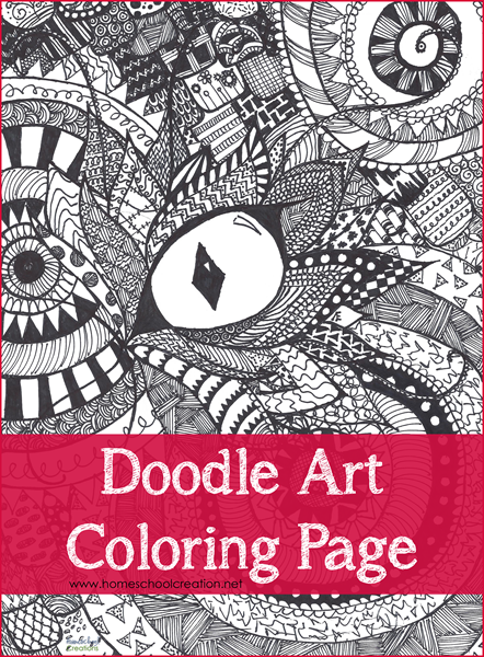 image about Doodle Art Printable known as Doodle Artwork Coloring Web site Printable