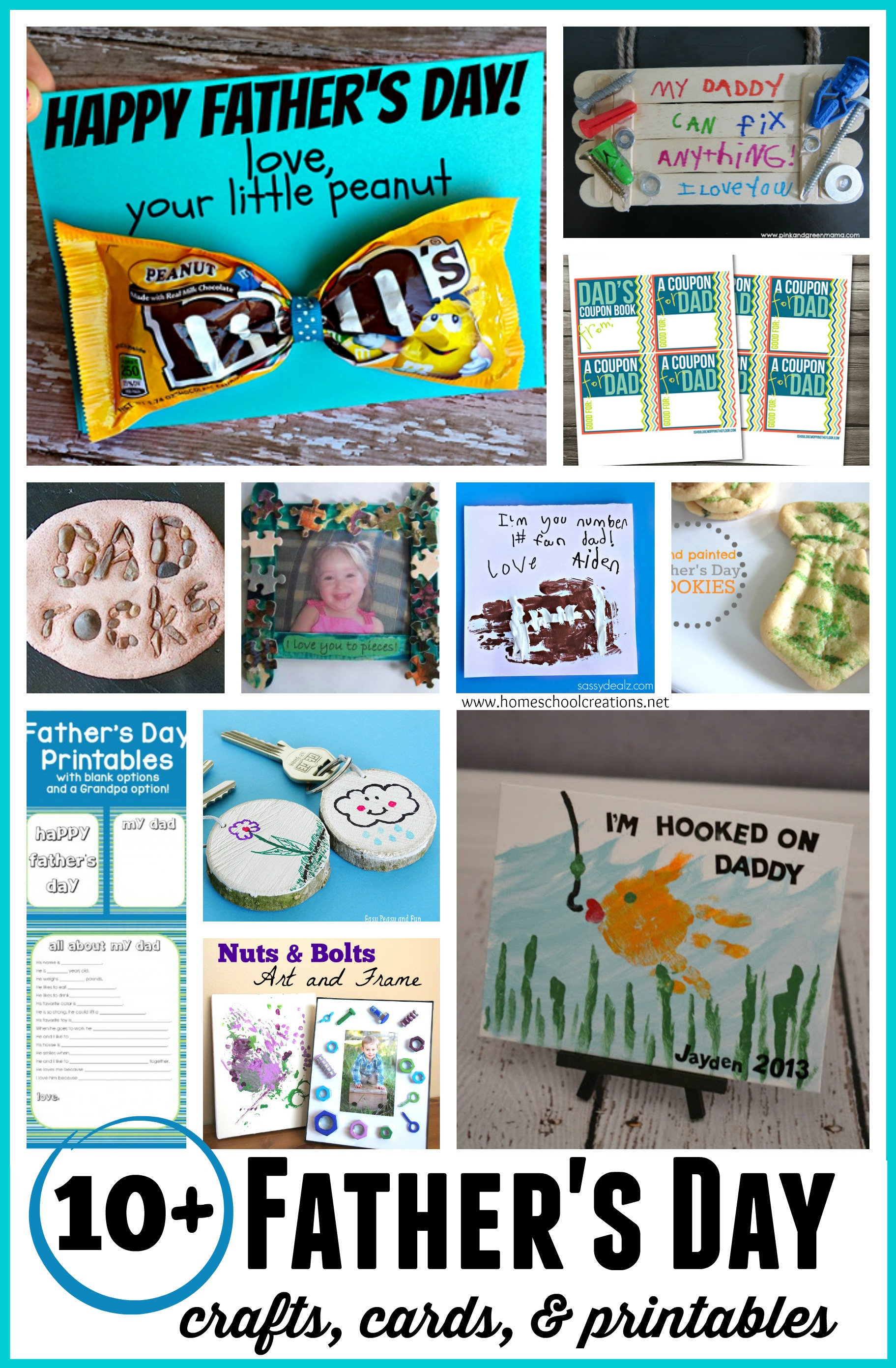 Father S Day Crafts Cards And Printables Preschool And