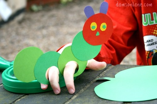 photograph regarding Very Hungry Caterpillar Craft Printable referred to as 50 Crafts, Actions, and Printables for The Really Hungry