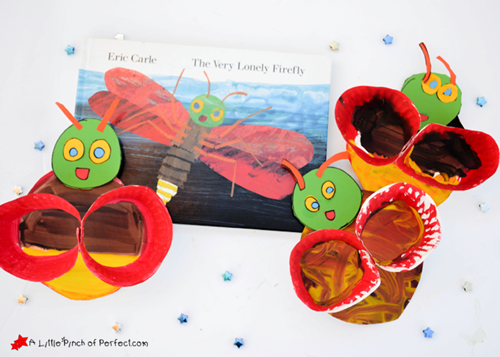 Firefly Paper Plate Craft Inspired by Eric Carle A Little Pinch of Perfect copy (1)