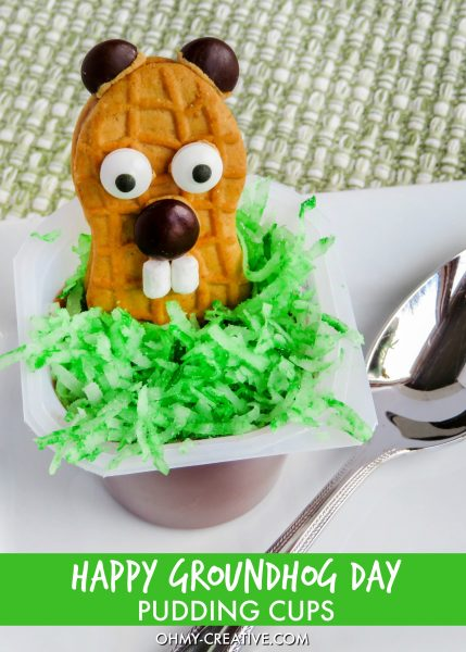 Happy-Groundhog-Day-Pudding-Cup-Dessert-OHMY-CREATIVE.COM_