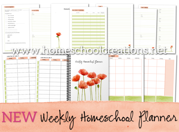New Weekly Homeschool Planner
