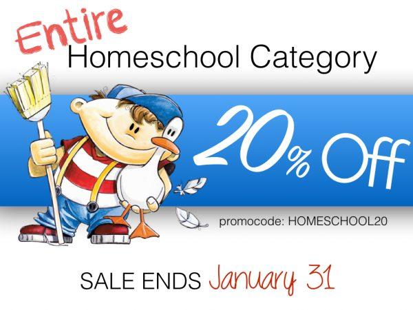 Homeschool Sale We Choose Virtues