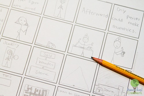 Illustrating history with comic strips {%{% Homeschool Creations-1