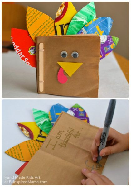 journaling-in-our-thankful-turkey-kids-book-craft-more-thanksgiving-crafts-for-kids-at-b-inspired-mama