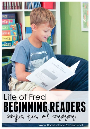 LIfe of Fred beginning readers - simple, fun, and engaging for children