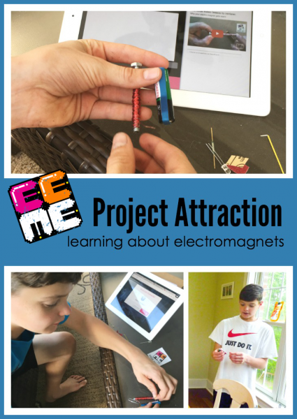 Learning about electromagnets with Project Attraction from EEME