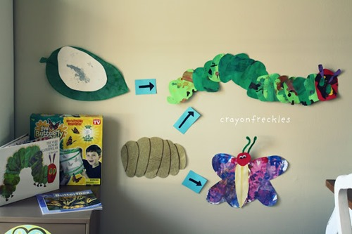 Life cycle of very hungry caterpillar