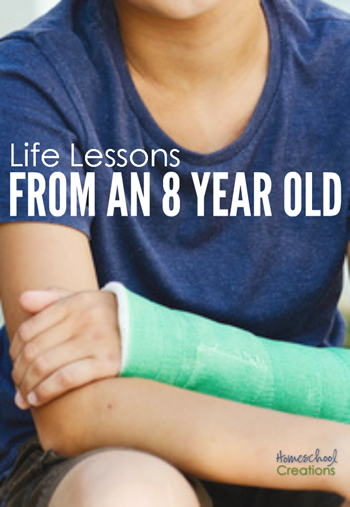 Life lessons from an 8 year old - Homeschool Creations