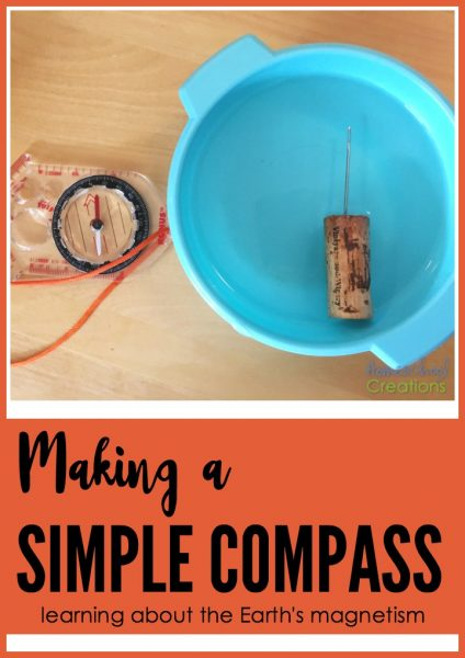 making a simple compass and learning about the Earth's magnetism - HomeschoolCreations.net