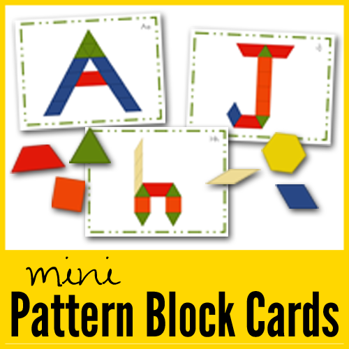 Pattern Block Mats And Cards New Printables
