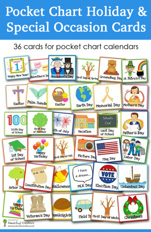 Pocket-chart-holiday-and-special-occasion-cards-